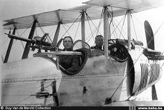 RAF BE2c Gallez Walter De Crombrugghe Marcel