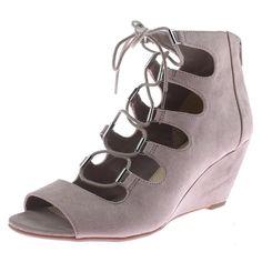 aa5d8ffda265 Bar III 9852 Womens Kerry Taupe Wedge Sandals Shoes 9.5 Medium (B