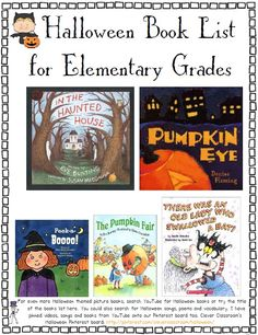 This unit includes a book list plus web links for clip art, crafts and ore. Math, literacy and Social studies worksheets for Halloween. $