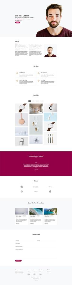 Free Resource to explore your imagine Free Web Design, Free Website Templates, Albedo, Portfolio Website, Design Crafts, Modern Design, Beautiful, Contemporary Design