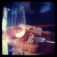 """via @Derrickvee """"""""Wonderful steak tartare and rose is the best way i found to use my fork today. #forkportland"""""""
