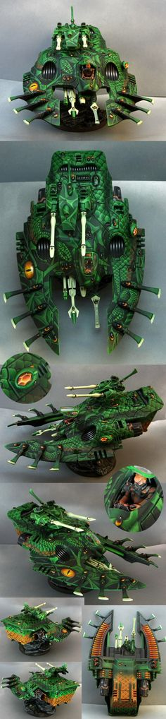 Eldar Wave Serpent - CMON