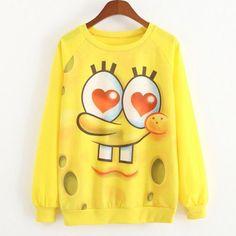 New 2015 Spring and autumn Hoodies Long sleeve hoodie Women thin style Loose plus-size Hoody totoro printed Women sweatshirt