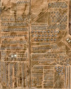 Picture of the day for August 19 2016 at 08:06PM from 'Daily Overview;  The largest aircraft storage and preservation facility in the world is located at DavisMonthan Air Force Base in Tucson Arizona. The facility - run by the 309th Aerospace Maintenance and Regeneration Group - contains more than 4400 retired American military and government aircraft. This incredible image was captured via airplane and is courtesy of our friends at nearmap USA  320959N 1105259W