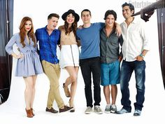 SDCC 2011 - HOLLAND RODEN, COLTON HAYNES, CRYSTAL REED, DYLAN O'BRIEN, TYLER POSEY, TYLER HOECHLIN