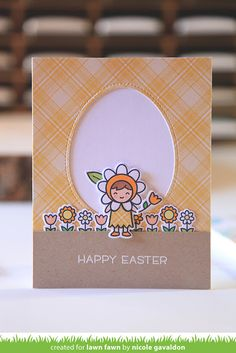 the Lawn Fawn blog: Lawn Fawn Intro: Easter Party, Spring Sprig, Outside In Easter Egg Stackables, Easter Egg Frames