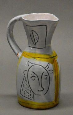 yellow - jar - Jacques Innocenti - ceramic