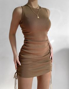 Cute Casual Outfits, Stylish Outfits, Casual Dresses, Summer Outfits, Girl Outfits, Fashion Outfits, Casual Chic, Fashion Ideas, Mini Dresses