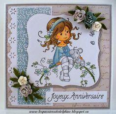 Sylvia Zet Stamps Sweet Blossom