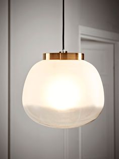 Frosted Ombre Glass Pendant Glass Pendant Light, Glass Pendants, Pendant Lighting, Chandelier, Ceiling Rose, Ceiling Lights, Cool Lighting, Frosted Glass, Living Spaces