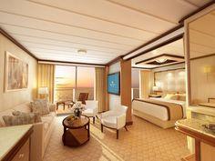 Suites on the Royal Princess #PrincessCruises