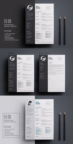 Clean and Simple CV Resume & Cover Letter