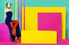Colour Blocking Fashion, Fashion Colours, Colorful Fashion, Color Blocking, Pop Fashion, Fashion Art, Editorial Fashion, Gypsy Fashion, Purple Fashion