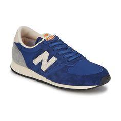 Baskets basses New Balance U420 Deep Blue - achat de chaussures en ligne, boutique chaussure pas cher sur Shoes.fr ! - Chaussures 89,99 €