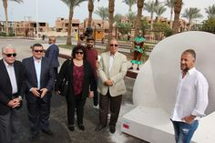 Minister of Culture and Governator of Red Sea. Hurghada. Egypt