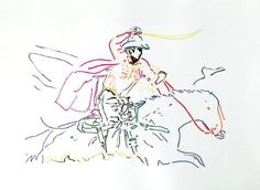Horse II (after Prince)