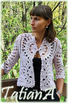 "Blazers, jackets handmade.  Fair Masters - handmade knitted jacket ""fever.""  Handmade."