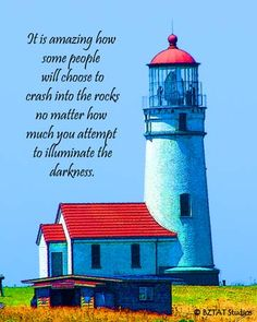CAPE-BLANCO Lighthouse   digital art & quote by BZTAT