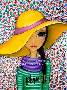 Risultati immagini per romi lerda Illustration Mignonne, Cute Illustration, Arte Sketchbook, Abstract Faces, Arte Popular, Whimsical Art, Face Art, Mixed Media Art, Painting Inspiration