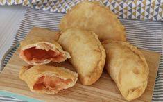 Pizza Recipes, Snack Recipes, Snacks, Panzerotti Recipe, Pizza Pockets, Antipasto, Frittata, Polenta, Empanadas