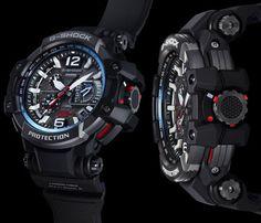 Casio G-Shock GPW-1000 GravityMaster - See The World's First GPS Solar Atomic Wave Ceptor Hybrid Watch