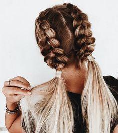 easy braided hairstyles for long hair frisuren frauen frisuren männer hair hair styles hair women Natural Braided Hairstyles, Fishtail Braid Hairstyles, Braided Hairstyles Tutorials, Hairstyle Ideas, Bouffant Hairstyles, Style Hairstyle, Cornrow Hairstyles White, Rope Braid Tutorials, Heart Hairstyles