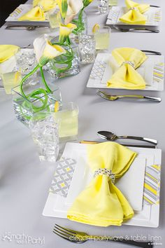 Stunning Summer Tablescape!  The Lilian Look By Smarty Had A Party.  |  SmartyHadAParty.com