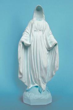 Soasig Chamaillard | Détournement Statue Sainte Vierge | Disparition | Nantes et Paris