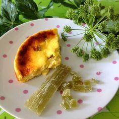 La cuisine & Claudine: Le Gâteau poids plume à l'angélique confite