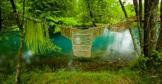 Ultimissime dall'orto: Land Art a Pordenone - Humus Park Expo Milano 2015, Andy Goldsworthy, Place To Shoot, Land Art, Environmental Art, Great Places, Les Oeuvres, Waterfall, Outdoor Structures
