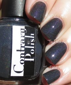 The PolishAholic: Contrary Polish Color4Nails Exclusive Duo Swatches & Review