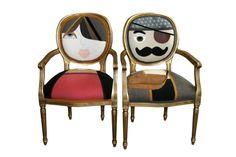 Mr and Mrs Chair by Irina Neacsu