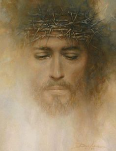 Beautiful image based on Robert Powell in (Jesus of Nazereth1977) I believe