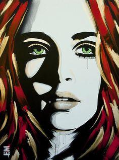Emma Sheldrake - Striking Paintings by Emma Sheldrake