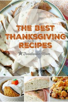 These are the best Thanksgiving recipes I've posted on my blog in the 3+ years! by Foodtastic Mom Turkey Rub, Roast Turkey Breast, Making Mashed Potatoes, Mashed Potato Recipes, Pumpkin Creme Brulee, Perfect Roast Turkey, Best Thanksgiving Recipes, Cranberry Chutney, Grape Salad