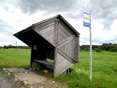 Estonian bus stop