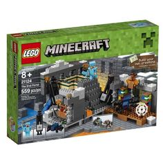 Buy LEGO Minecraft The End Portal 21124 - Find a superb collection of toys and games from Hamleys. We offer fast, efficient delivery on a wide range of toys and games, all available with premium gift wrapping! Lego Minecraft, Minecraft Portal, Minecraft Stuff, Minecraft Skins, Ri Happy, O Portal, All Lego, Lego Construction, Minecraft Creations