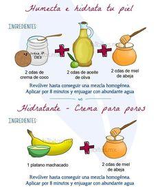 Humecta e hidrata tu piel con estos y más consejos. By: http://www.1001consejos.com/cuidado-para-piel-seca/