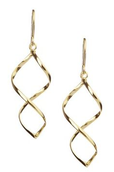Twisted Drop Earrings
