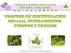 Proceso de certificación ISO 9001. Fundamentos, tiempos y precios
