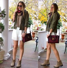 Aupie Skirt, Firmoo Sunnies, Tommy Hilfiger Bag, Macy's Boots, Daniel Wellington Watch, Marc By Marc Jacobs Necklace