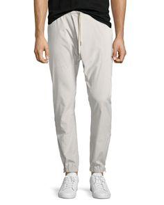HELMUT LANG Overlap Jogger Pants, Beige. #helmutlang #cloth #