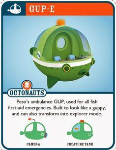 Jovial Spondoodles: Octonauts Octo Crew Cards