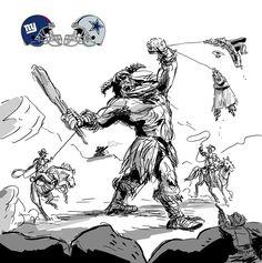 Austin madison Giants vs Cowboys