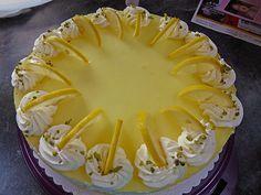 Einfache Zitronen – Joghurt – Torte Simple lemon yogurt cake 4 Simple lemons – yoghurtSimple lemons – yoghurtLemon yoghurt cake: W Dessert Oreo, Oreo Dessert Recipes, Brownie Desserts, Lemon Desserts, Easy Cookie Recipes, Easter Recipes, Cheesecake Recipes, Cheesecake Cookies, Dessert Simple