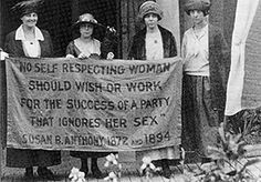 The Women's Suffrage Movement ct