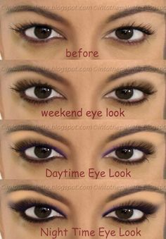 Top 10 simple makeup tutorials for hooded eyes simple makeup into the palette very detailed tutorials for hooded eyes lots of fantastic info ccuart Gallery