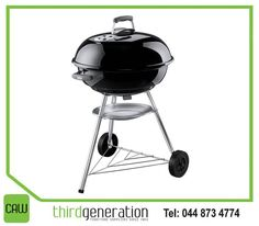 The #Weber 57cm Compact Kettle Braai, perfect for a family #braai, now available at #CAWThirdGeneration.