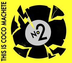 This Is Coco Machete Nº2 CD Design