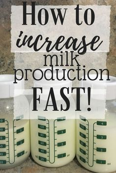 How to increase your breast milk production FAST! I was able to double mine in 48 hours following these steps!